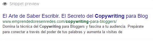 Los secretos del Copywriting